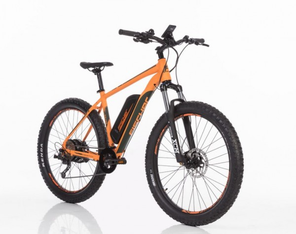 "FISCHER MTB E-Bike 27,5"" plus EM 1723 - Orange+0€ VERSAND!"