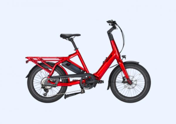 KETTLER Alu-Rad Familiano C-10 500 Wh E-Transportrad 20 Zoll 10 Gang Kettenschaltung - 46 cm