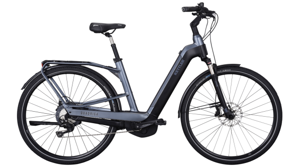 Kettler E-Bike Alu Rad Quadriga Comp CX 11 500 Wh Unisex 28 Zoll Wave 11 Gang grey matt