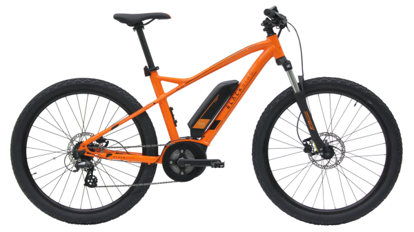 Kettler E-Bike Blackbird RS E1 300 Wh Herrenfahrrad 27,5 Zoll Diamant 7 Gang orange shiny