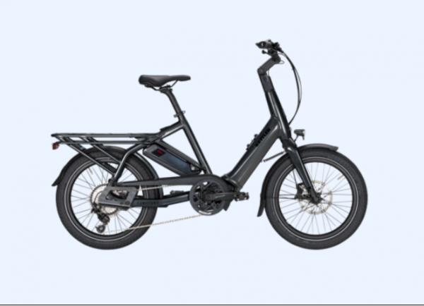 KETTLER Alu-Rad Familiano C-10 500 Wh E-Transportrad 20 Zoll 10 Gang Kettenschaltung grey - 46 cm