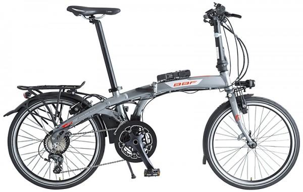 """E-Bike BBF """"Monaco Pro"""" Ansmann 20-Gang - 20"""", RH 30 cm"""