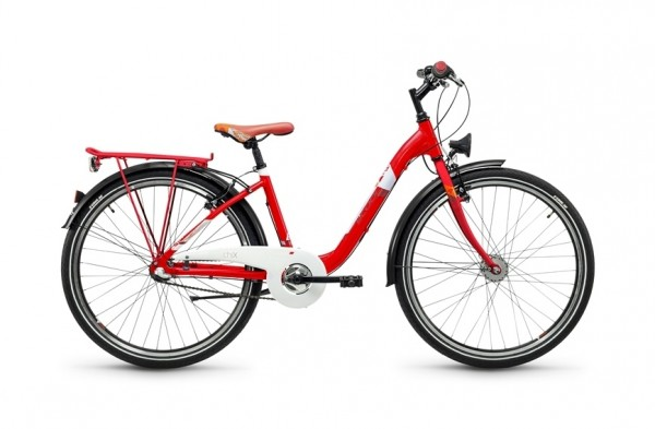 S`COOL chiX steel 26 - 7 speed Nexus - rot