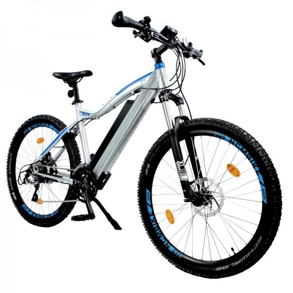 "NCM Moscow Plus 27,5"" E-Bike, Mountainbike, 48V 16Ah 768Wh Akku, silber"
