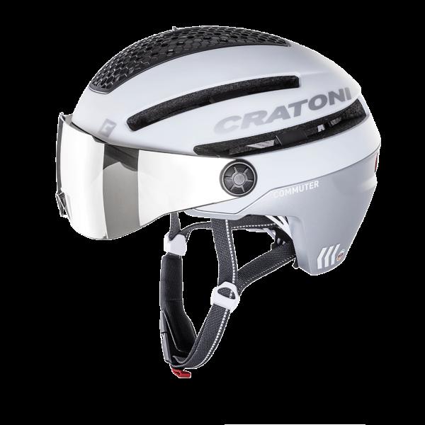 CRATONI COMMUTER Pedelec/E-Bike - white matt