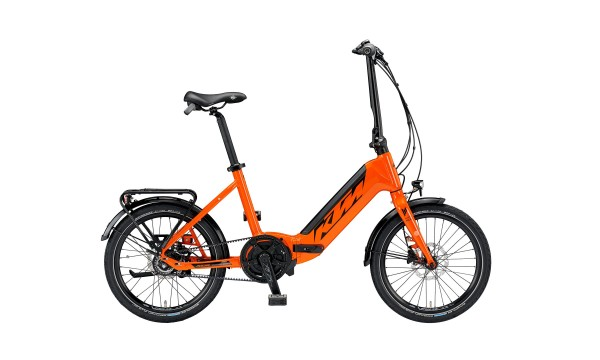 "KTM MACINA FOLD 20"" orange (black) 1x Shimano 8 Gang"