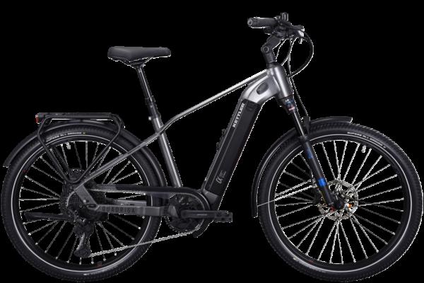 KETTLER Alu-Rad Quadriga DUO CX12 1000 Wh Herren E-Trekking 27,5 Zoll 12 Gang Kettenschaltung black