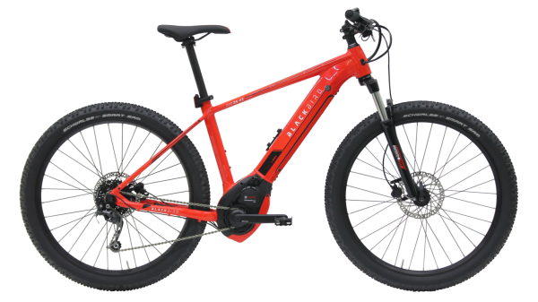 Kettler E-Bike Blackbird RS E3 EVO 500 Wh Herrenfahrrad 27,5 Zoll Diamant 9 Gang red shiny