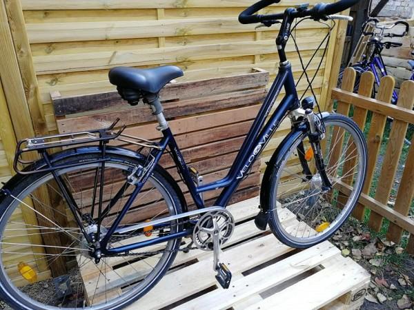Velo de Ville Fahrrad mit 14 Gang Rohloff Nabenschaltung 50-53cm RH