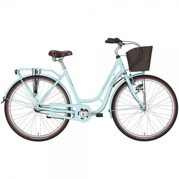 Excelsior Cityrad Swan Retro Alu Mod 18 TSP 28 Light Blue Fahrrad