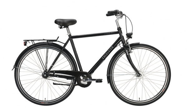 "EXCELSIOR Cityrad ""Touring Star ND"" Mod. 21 Diamant, 28"", black, 3-Gang SHIMANO ""Nexus"" RBN, 55cm"