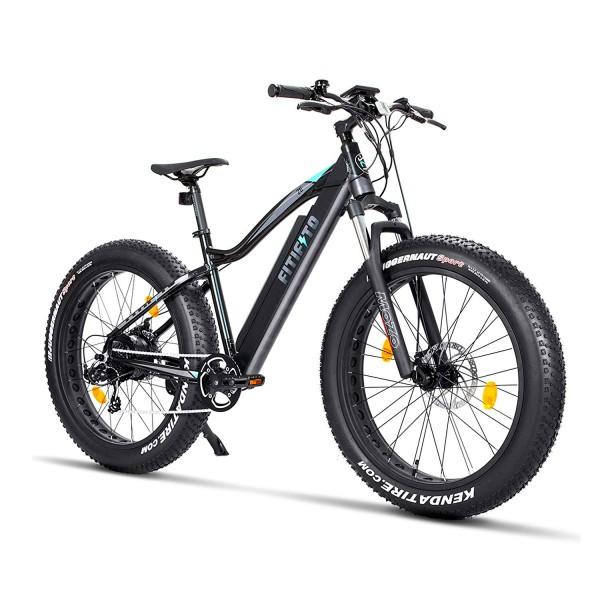 Fitifito FT26 Elektrofahrrad Fatbike E-Bike Pedelec, 36V 250W Heckmotor, 36V 13Ah 468W Samsung Akku,