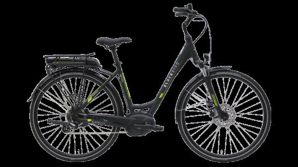Kettler E-Bike Blackbird T8 Performance 500 Wh Unisexfahrrad 28 Zoll Wave 8 Gang midnight green ma