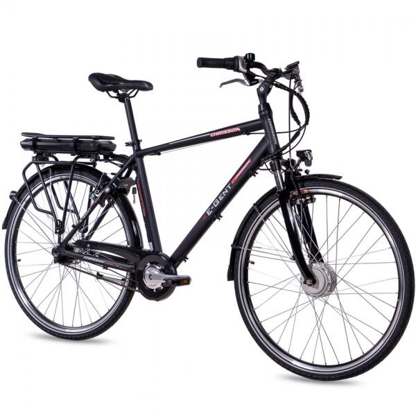 CHRISSON E-GENT 7G Shimano Nexus ANANDA 28 Zoll E-Citybike schwarz matt