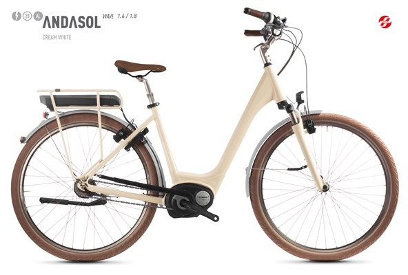 GHOST City E-Bike Andasol Wave B1.8 AL 2018 Größe L