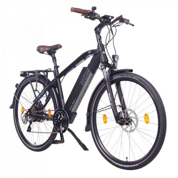 """NCM Venice Plus 28"""" E-Bike, Urban Trekkingbike, 48V 16Ah 768Wh Akku, schwarz"""