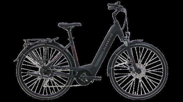 Kettler E-Bike Blackbird EVO T8 500 Wh Unisexfahrrad 28 Zoll Wave 8 Gang black matt