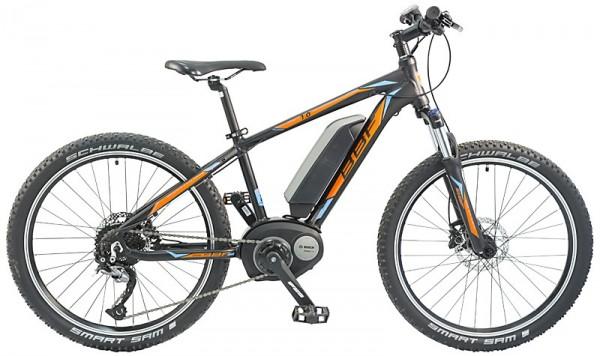 "E-Bike BBF ""Cordoba 1.0"" BOSCH Knaben 9-Gang - 24"", RH 36 cm"
