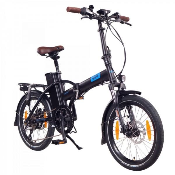 """NCM London+ 20"""" E-Faltrad, E-Bike, Klapprad 36V 19Ah 684Wh matt schwarz"""