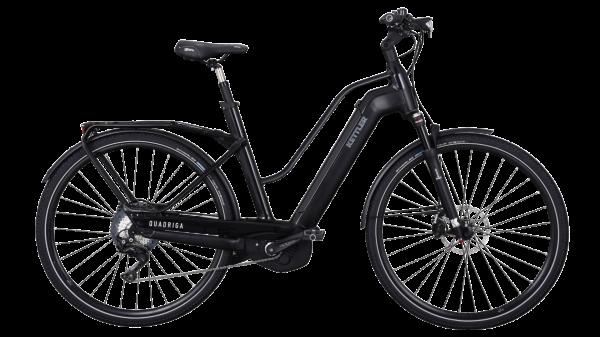 Kettler E-Bike Alu Rad Quadriga Pro CX 11 500 Wh Damenfahrrad E-Trekking 28 Zoll Trapez 11 Gang bla