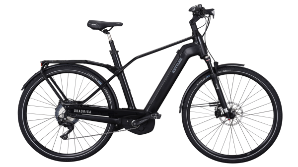 Kettler E-Bike Alu Rad Quadriga Pro CX 11 500 Wh Herrenfahrrad E-Trekking 28 Zoll Diamant 11 Gang b