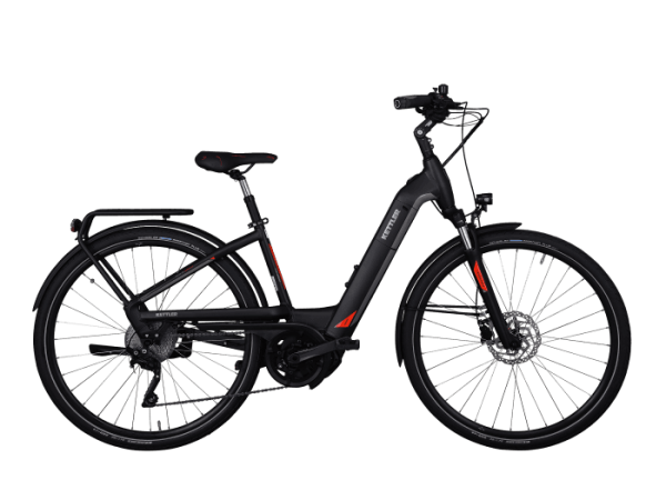 KETTLER Paramount 500 Wh Damenfahrrad E-Bike 28 Zoll Wave 10 Gang granite matt 2019 - RH 45 cm