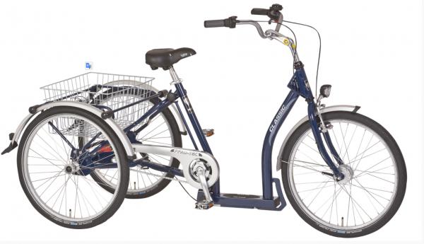 "PFAU-TEC Shoppingrad ""Classic"" Mod. 20 - Unisex, dunkelblau, 45cm"