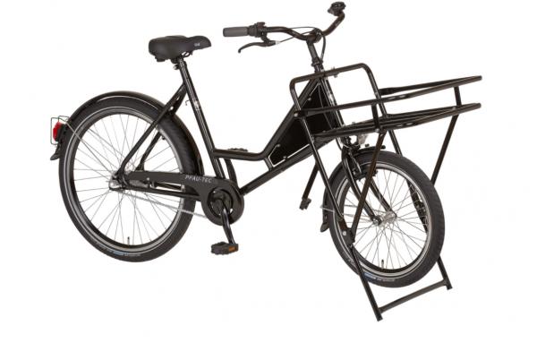 """PFAU-TEC Transportrad """"Porter"""" Mod. 22 Unisex, 20 / 26"""", schwarz, 1-Gang RBN, 56cm"""