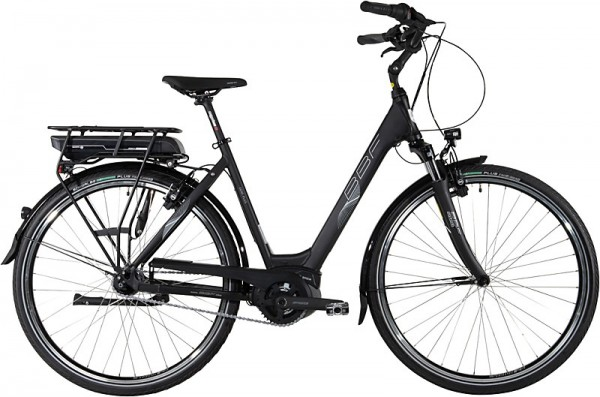 "BBF ""Genf Plus"" E-Bike BOSCH Damen 7-Gang, schwarz matt"