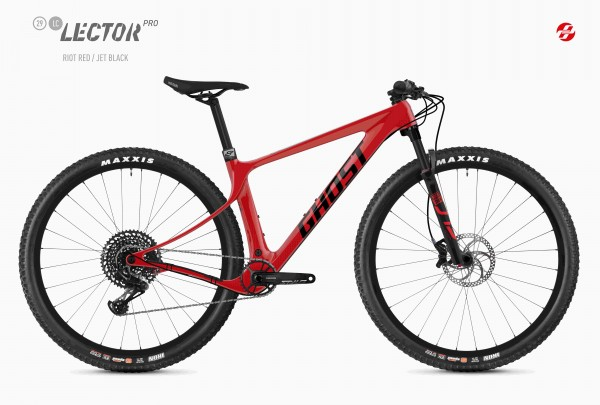 """Ghost Lector SF LC Pro 29"""" Uni riot red / jet black 2020"""