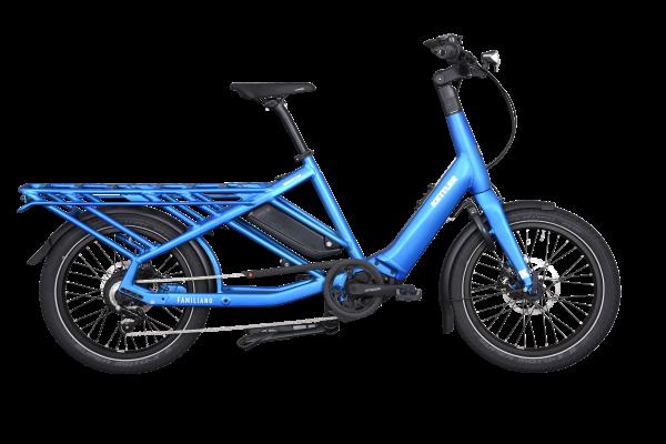 KETTLER Alu-Rad Familiano L-N 500 Wh E-Transportrad 20 Zoll Nabenschaltung blue - 46 cm
