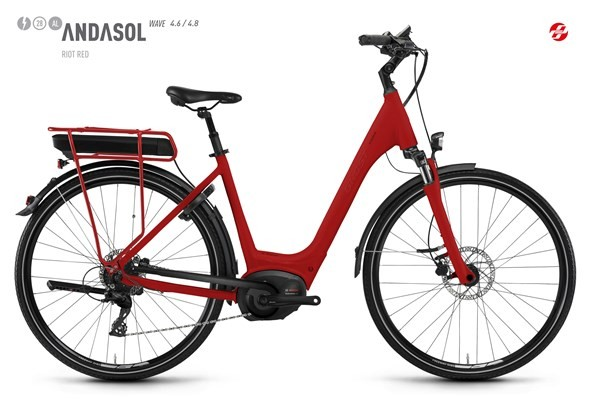 GHOST City E-Bike Andasol Wave B4.6 AL 2018 Größe S