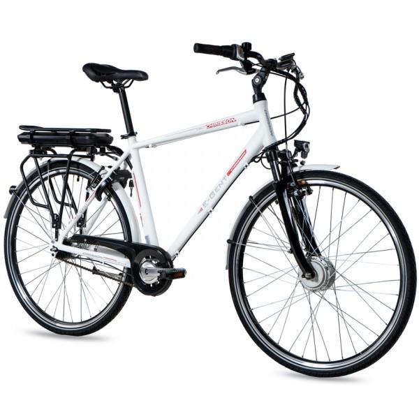 CHRISSON E-GENT 7G Shimano Nexus ANANDA weiß matt 28 Zoll E-Citybike