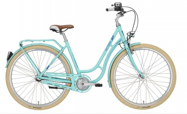 "VICTORIA Cityrad ""Retro 3.4 28 in 50 und 55cm lightmint/blue, 3-Gang SHIMANO ""Nexus"""