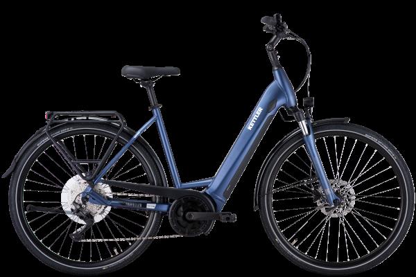 KETTLER Traveller E-Gold 10 Plus 500 WH - dark steel blue