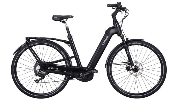 Kettler E-Bike Trekking Alu Rad Quadriga Pro CX 11 500 Wh Unisexfahrrad 28 Zoll Wave 11 Gang black