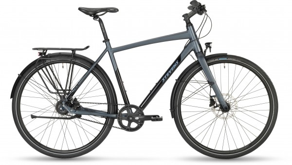 STEVENS ATB Courier Luxe Gent 20 48 Granite Grey