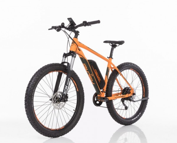 "FISCHER MTB E-Bike 27,5"" plus EM 1723 B-Ware - Orange+0€ VERSAND!"