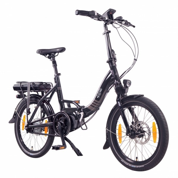 "NCM Paris MAX N8R 20"" E-Bike, E-Faltrad, 36V 14Ah 504Wh Akku, schwarz"