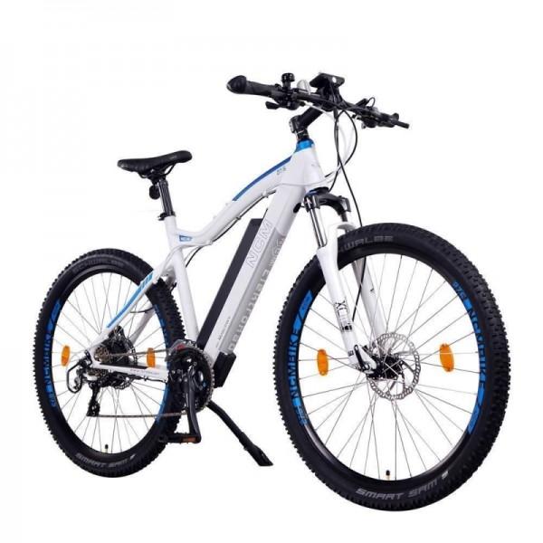 """NCM Moscow+ 27,5"""" E-Bike, Mountainbike, 48V 14Ah 672Wh Akku, in Schwarz und weiß erhältlich!!"""