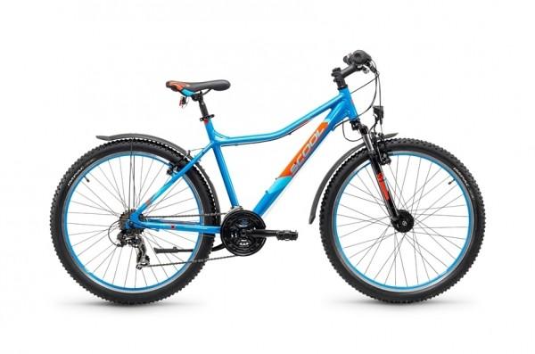 S`COOL troX urban 26 - 48 - 21 speed Shimano - hellblau/orange