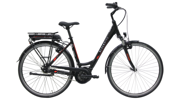 Kettler E-Bike Blackbird NX 7F 300 Wh Unisexfahrrad E-City 28 Zoll Wave 7 Gang black shiny