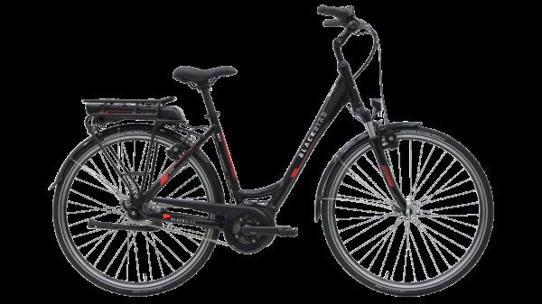 Kettler E-Bike Blackbird NX 7R 300 Wh Unisexfahrrad E-City 28 Zoll Wave 7 Gang black in Größe 55