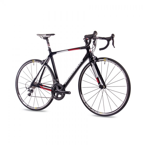 "CHRISSON PRO ROAD TEAM 20 Gang Shimano Ultegra 28"" Rennrad schwarz"