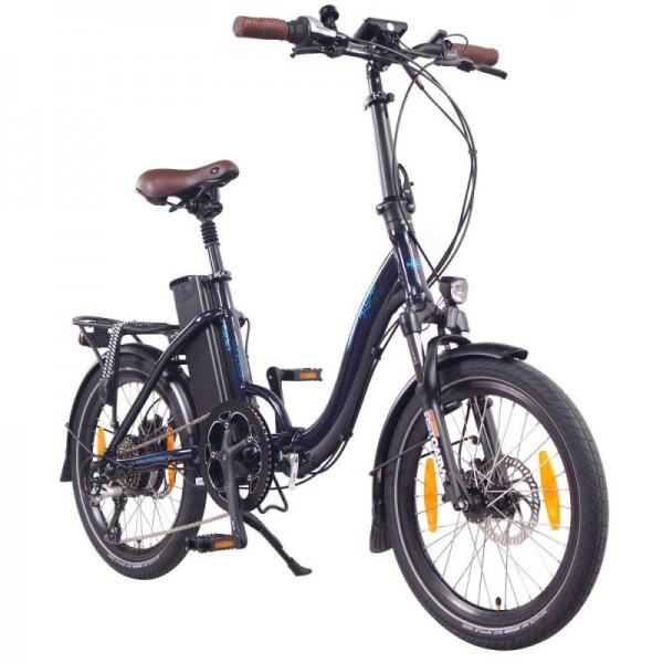 "NCM Paris+ 20"" E-Faltrad, E-Bike, Klapprad 36V 19Ah 684Wh, dunkelblau"