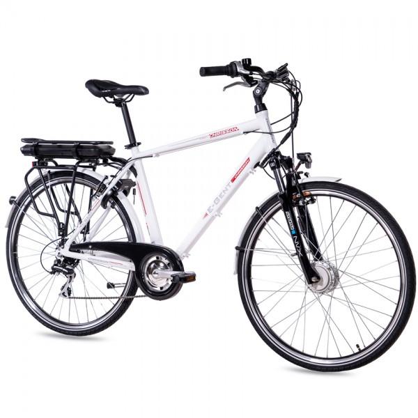 CHRISSON E-GENT 8G Shimano Acera ANANDA 28 Zoll E-Citybike weiß