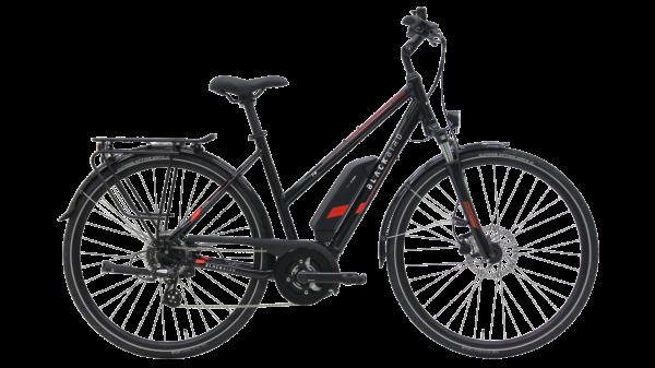 Kettler E-Bike Blackbird T8 400 Wh Damenfahrrad E-Bike 28 Zoll Trapez 8 Gang black shiny