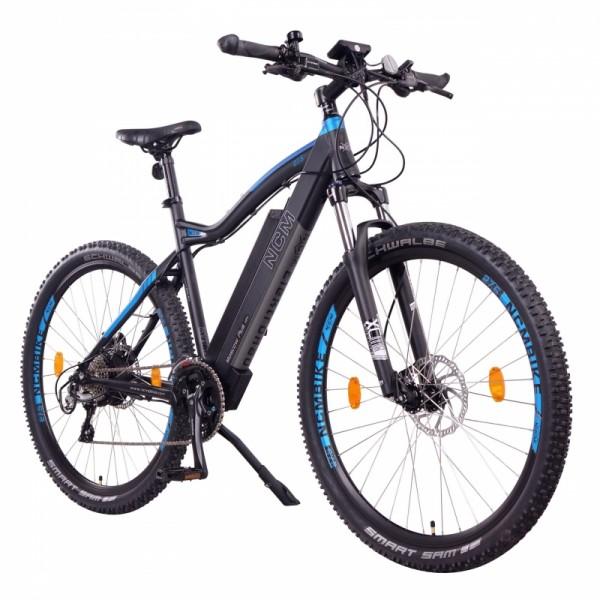 "NCM Moscow Plus 27,5"" E-MTB, Mountainbike E-Bike 48V 16Ah 768Wh Panasonic Zellen Akku, schwarz"