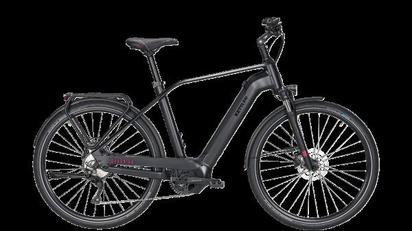 KETTLER Alu Rad Quadriga CX10 500 Wh Herrenfahrrad E-Trekking 28 Zoll Diamant 10 Gang Kettenschaltun
