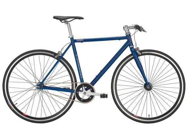 FIXIE FORELLE 28, Singlespeed blau/schwarz 1-Gang Freilauf RH 53 cm+0€ VERSAND